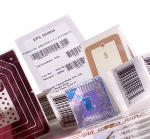 Auto-ID technologies include barcode, rfid, and bluetooth low energy